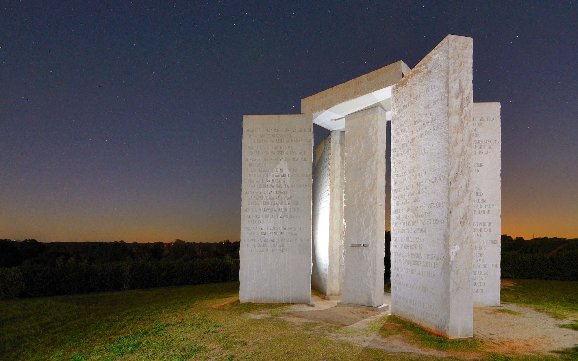 Weirdest Roadside Attractions: Georgia: Georgia Guidestones