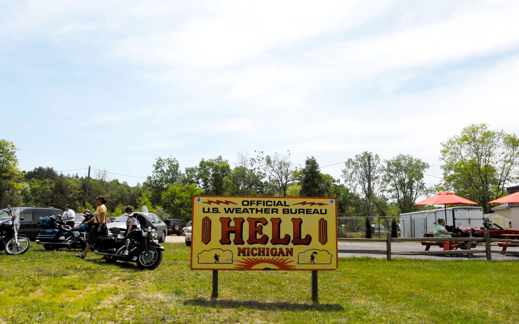 Weirdest Roadside Attractions: Michigan: Hell, Michigan