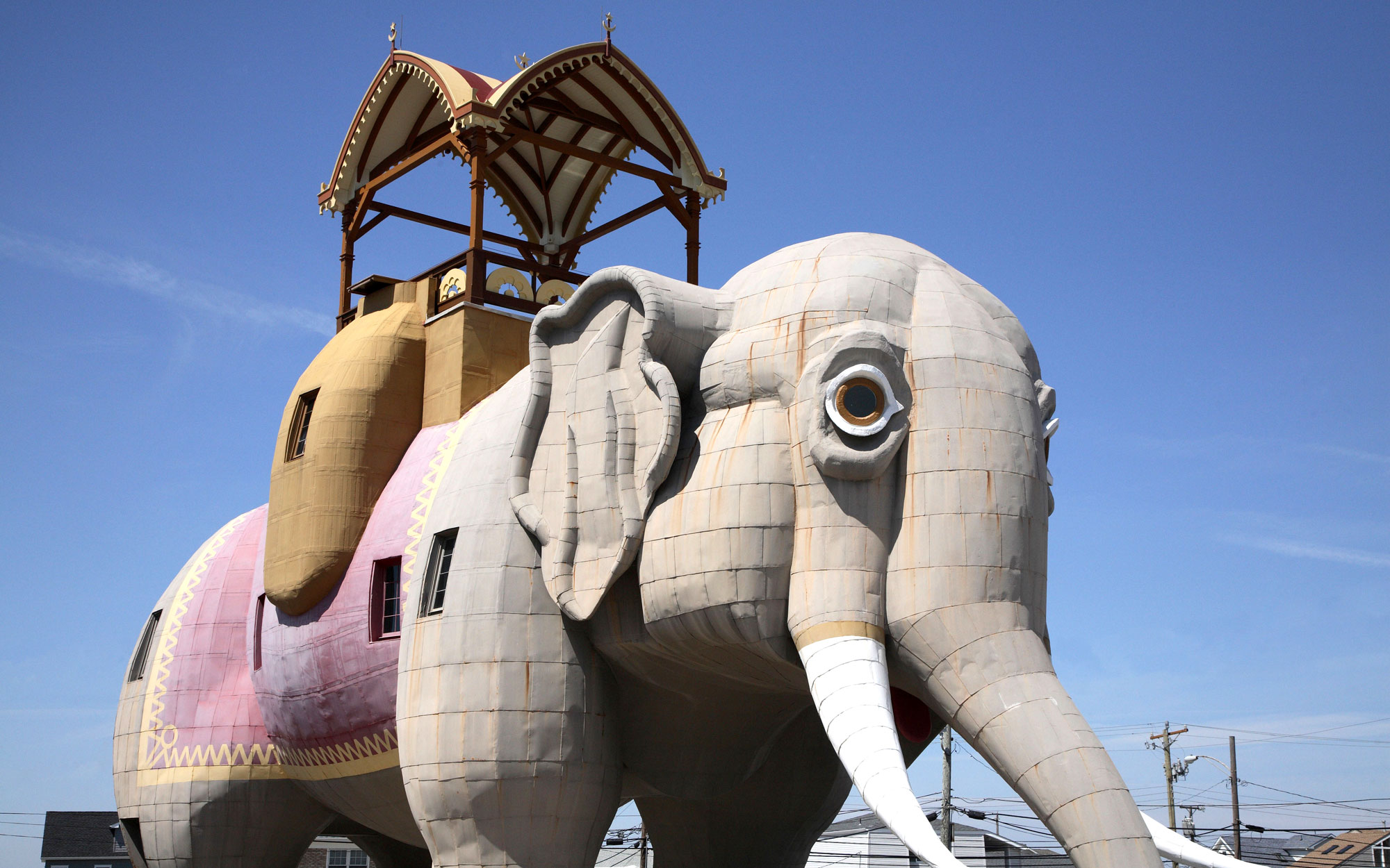 Weirdest Roadside Attractions: New Jersey: Lucy the Elephant