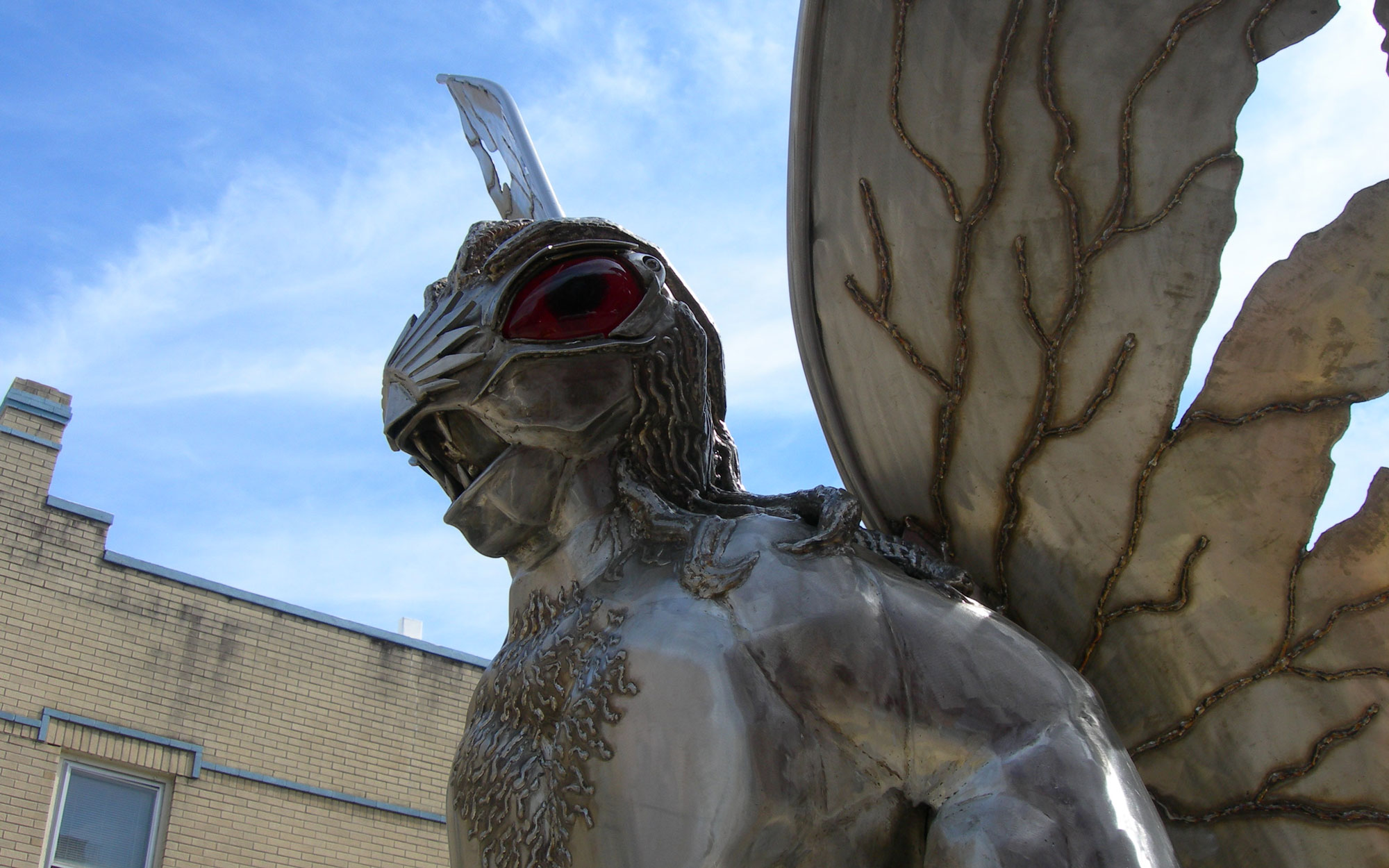 Weirdest Roadside Attractions: West Virginia: Mothman Statue