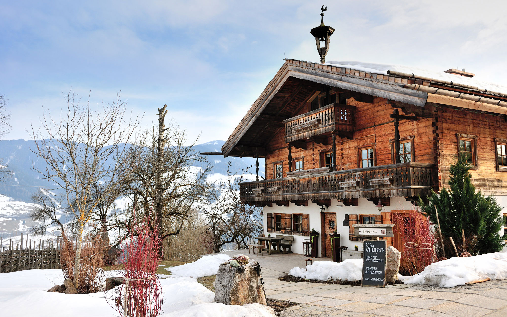 Europe's Coziest Winter Retreats: Priesteregg, Salzburgerland, Austria