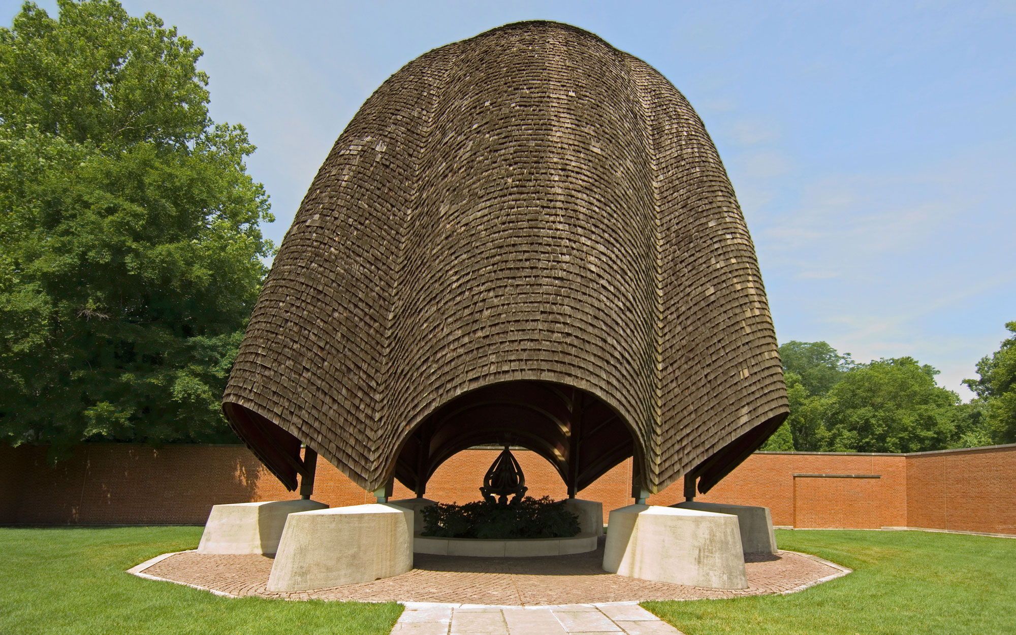 Weirdest Roadside Attractions: Indiana: Roofless Church