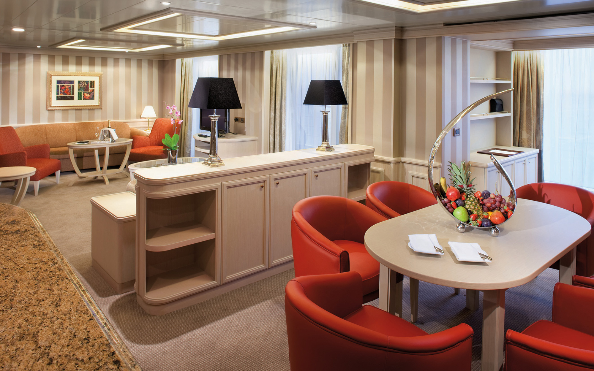 World's Best Cruise Cabins: Silversea, Small Ocean
