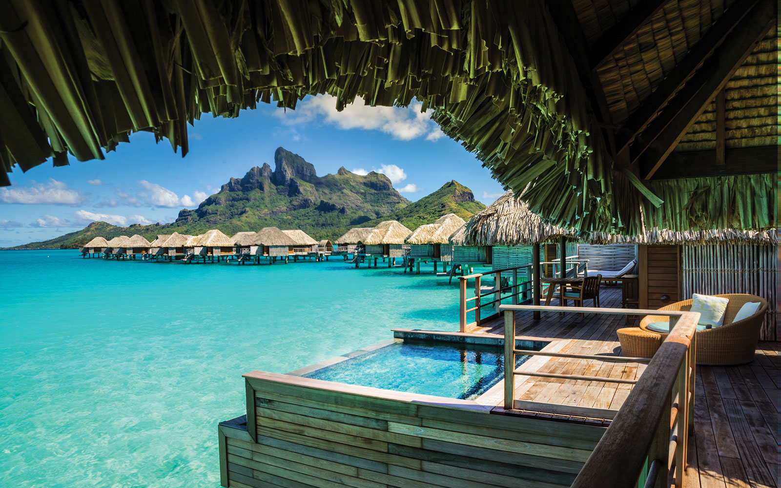 World's Best Beach Hotels: No. 16 Four Seasons Resort Bora Bora