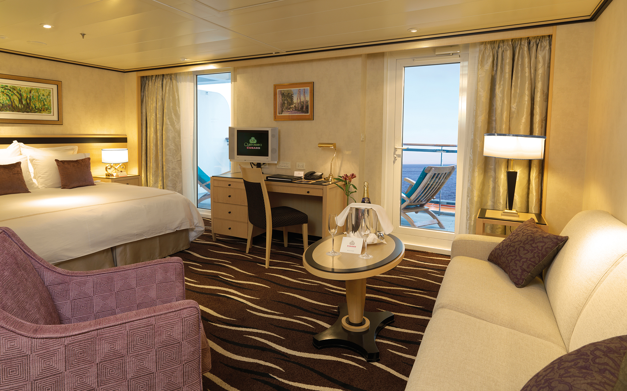 World's Best Cruise Cabins: Cunard, Mega Ocean