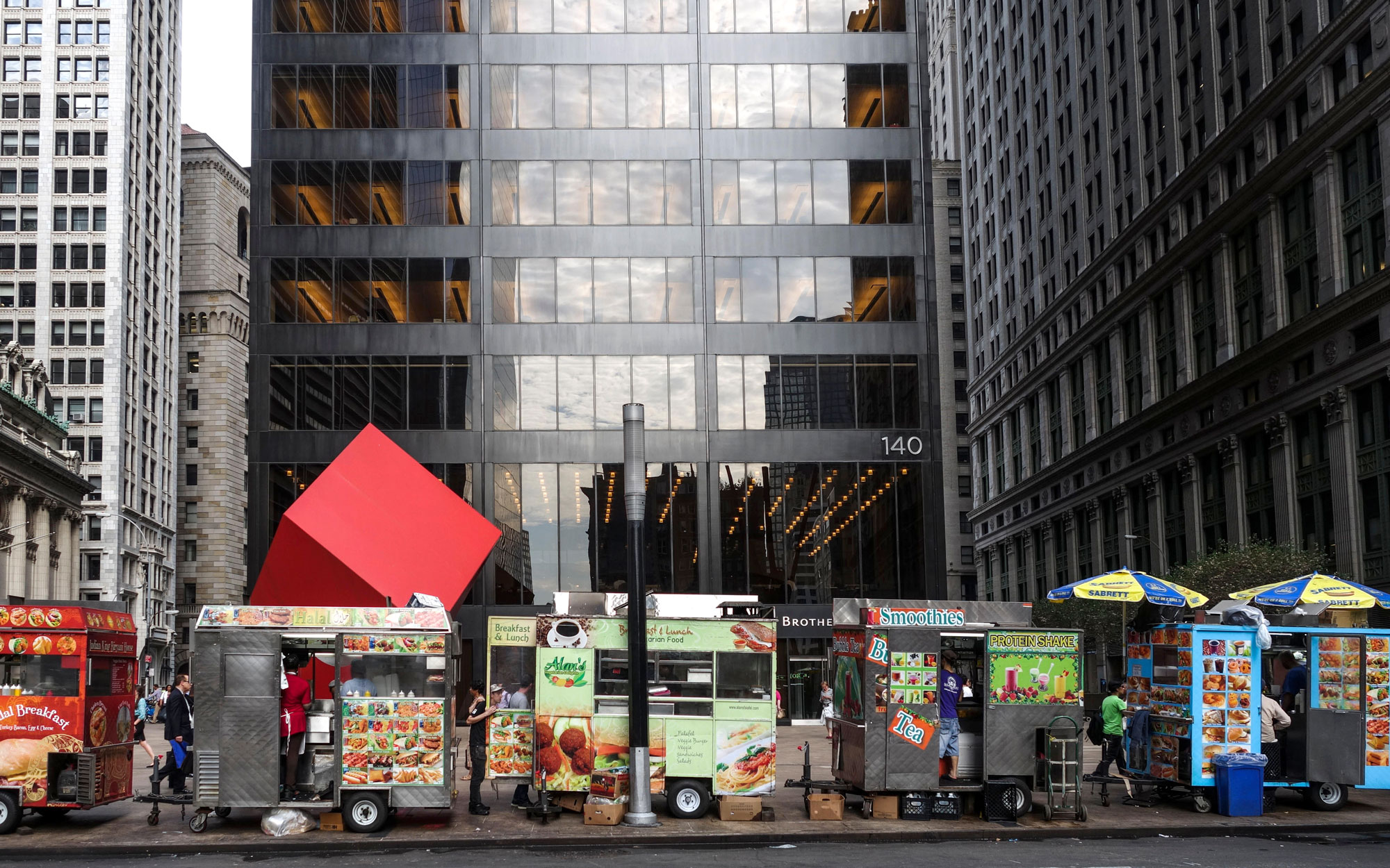 The World's Eleven Best Street Food Cities: New York City