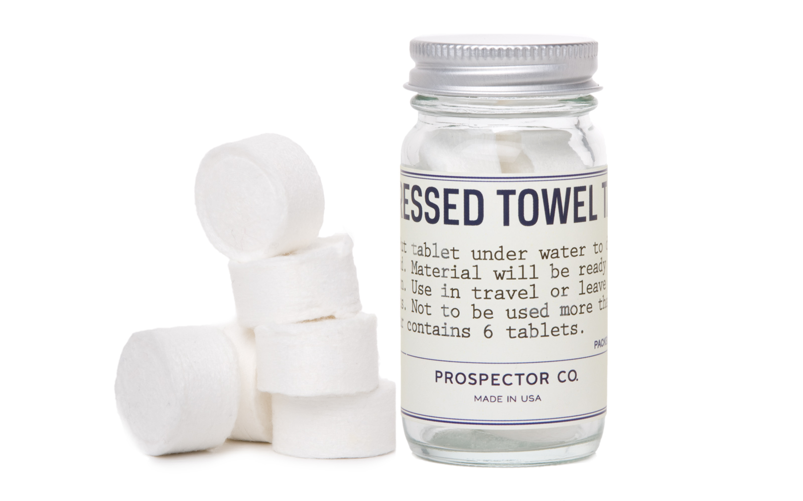 Best Travel Products: Prospector Co. Compressed Towel