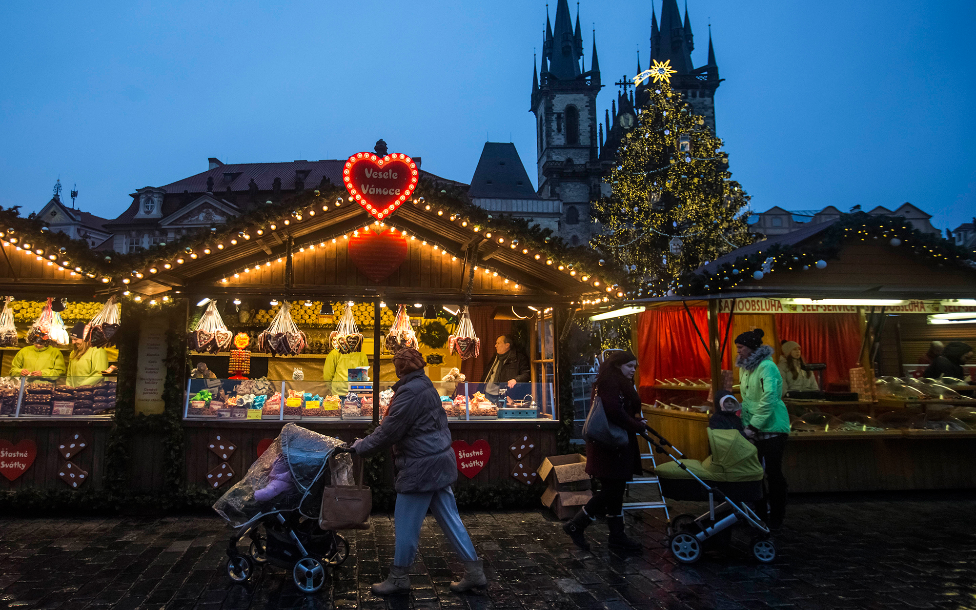 Old Town Christmas Market in Prague