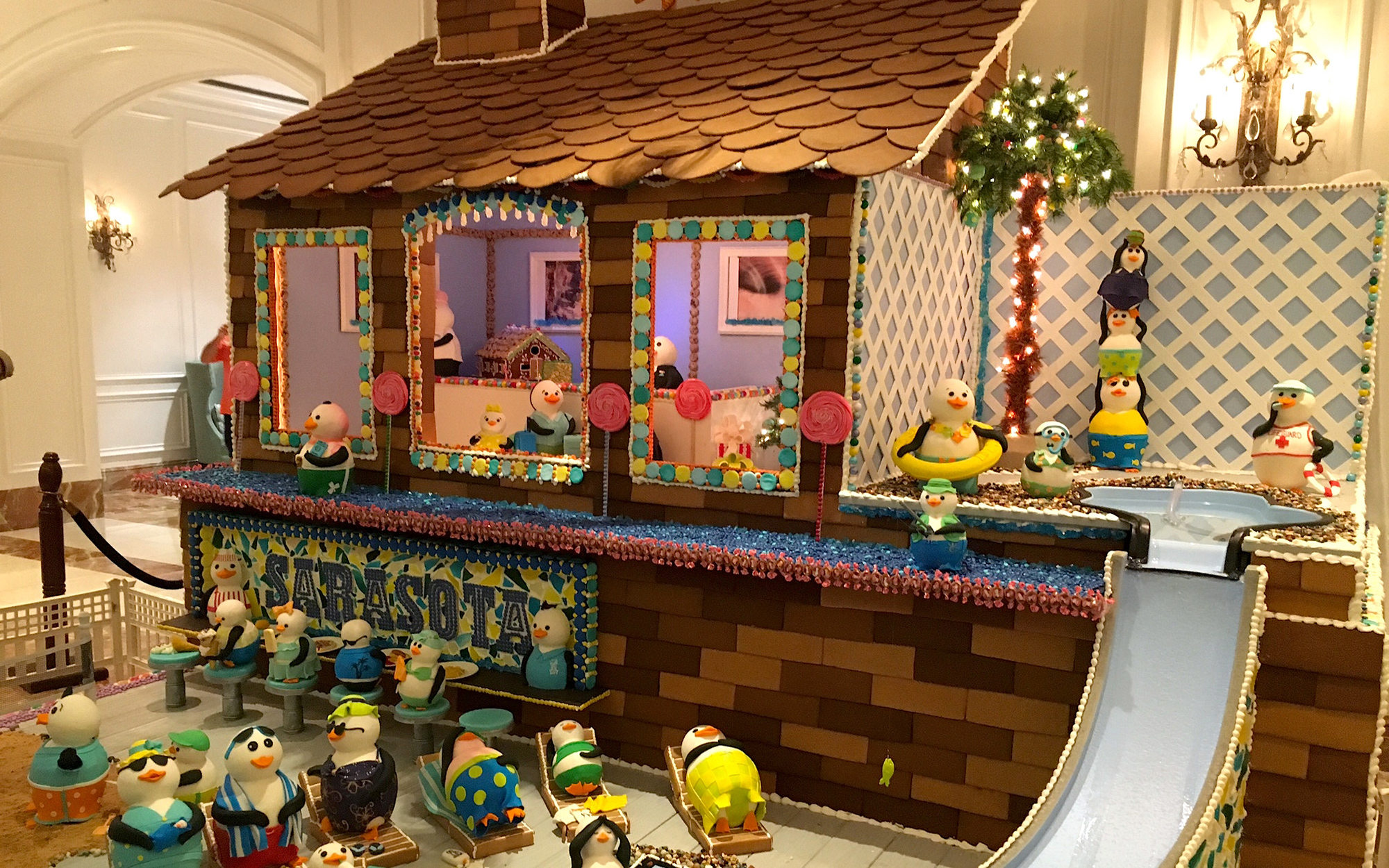 The Best Hotel Gingerbread Houses: The Ritz-Carlton, Sarasota, Florida