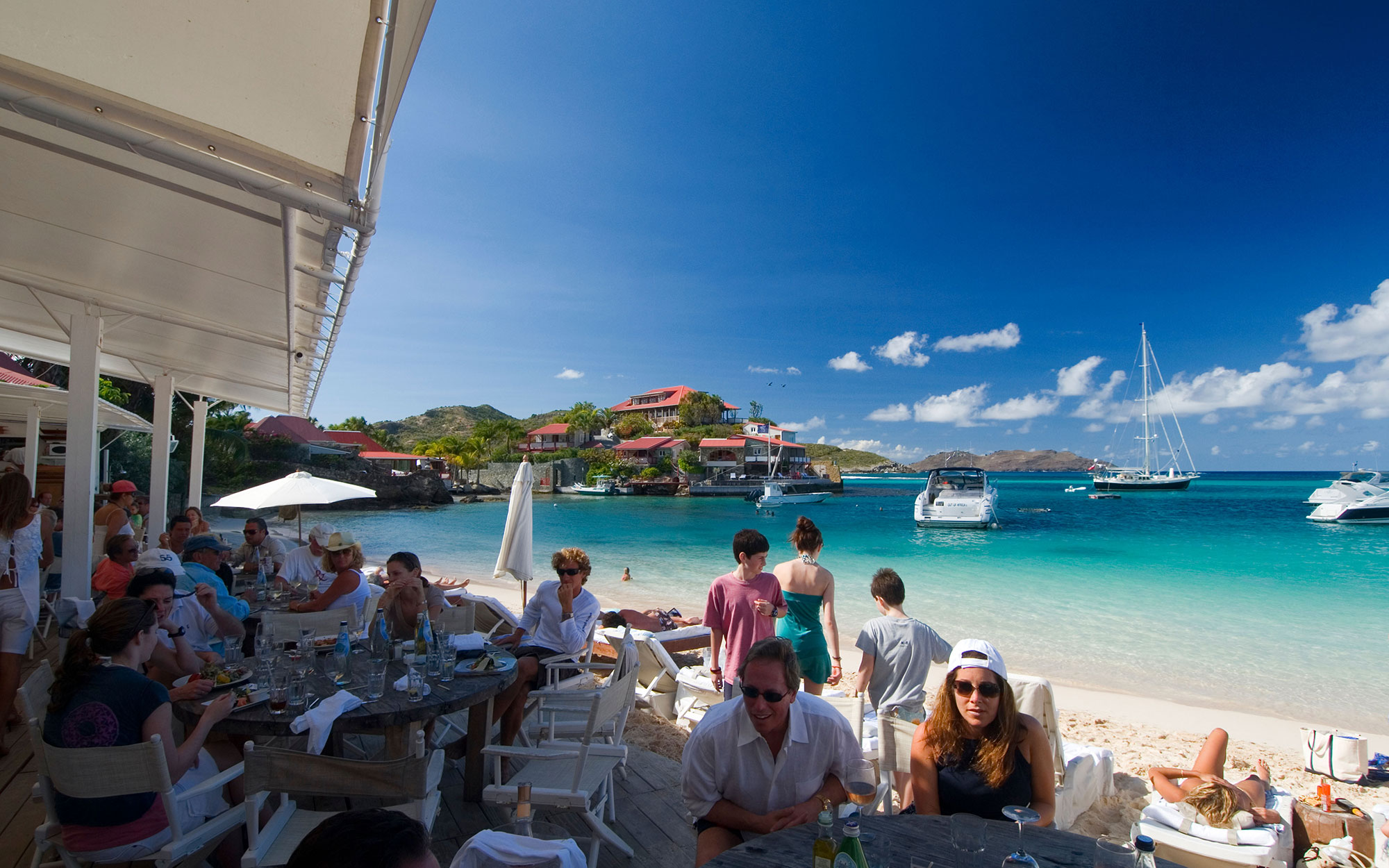 Best Islands for Food: No. 2 St. Bart's