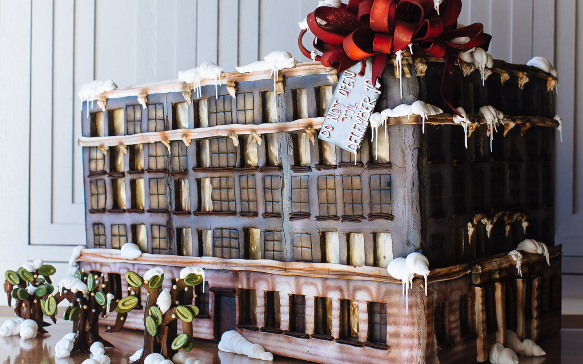The Best Hotel Gingerbread Houses: Ace Hotel Downtown Los Angeles, California