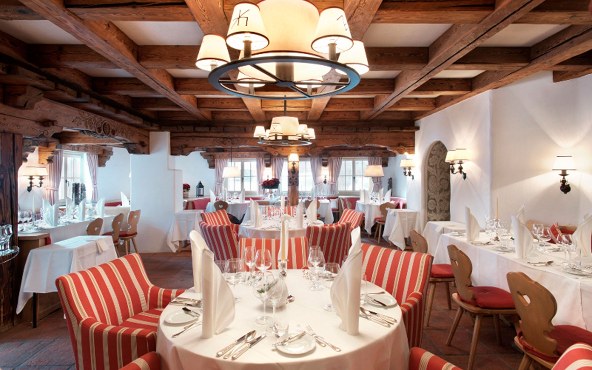 Where to Apres Ski with Celebrities: Hotel Walserhof, Klosters, Switzerland