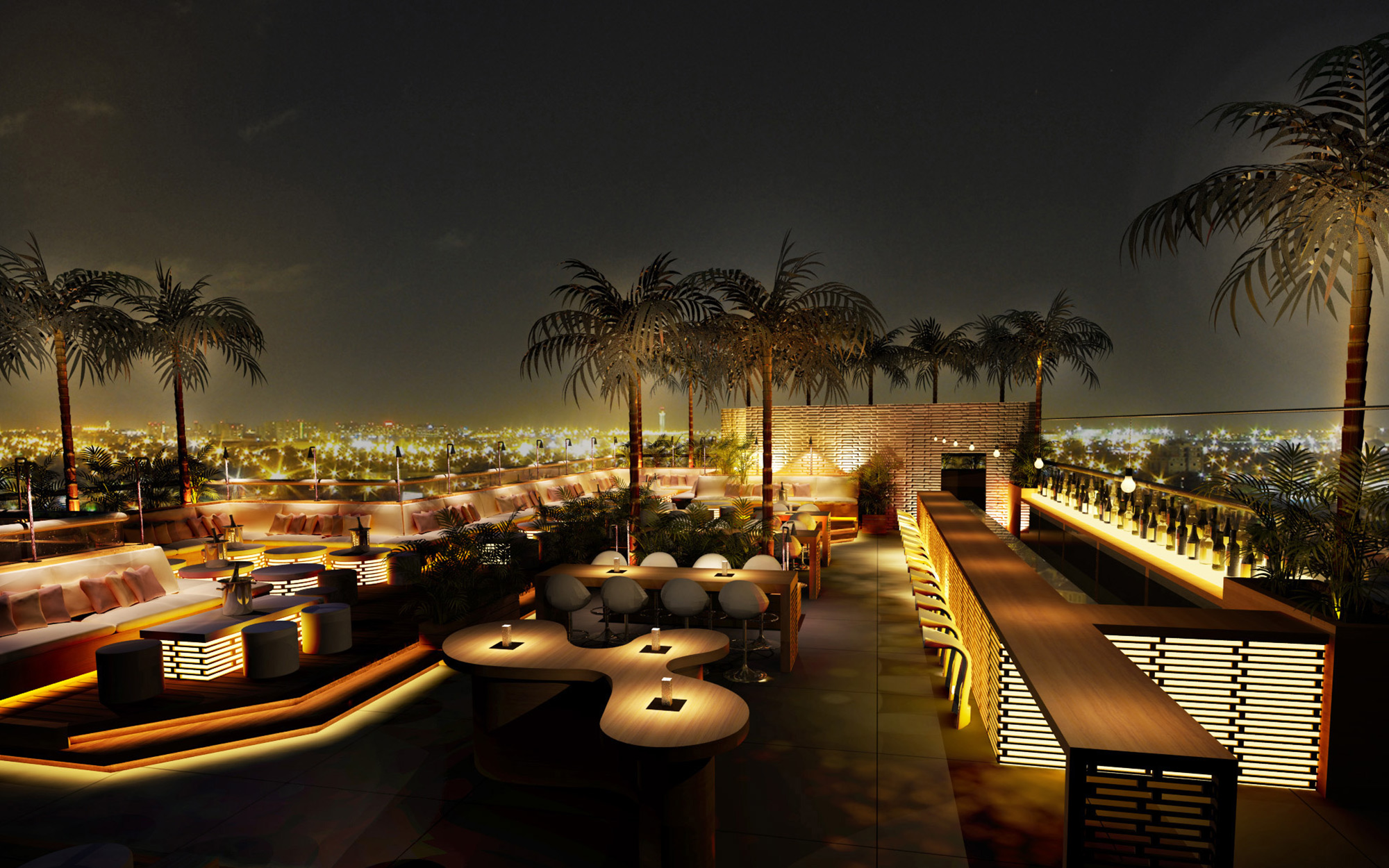 Dubai's Best Rooftop Restaurants: 40 Kong