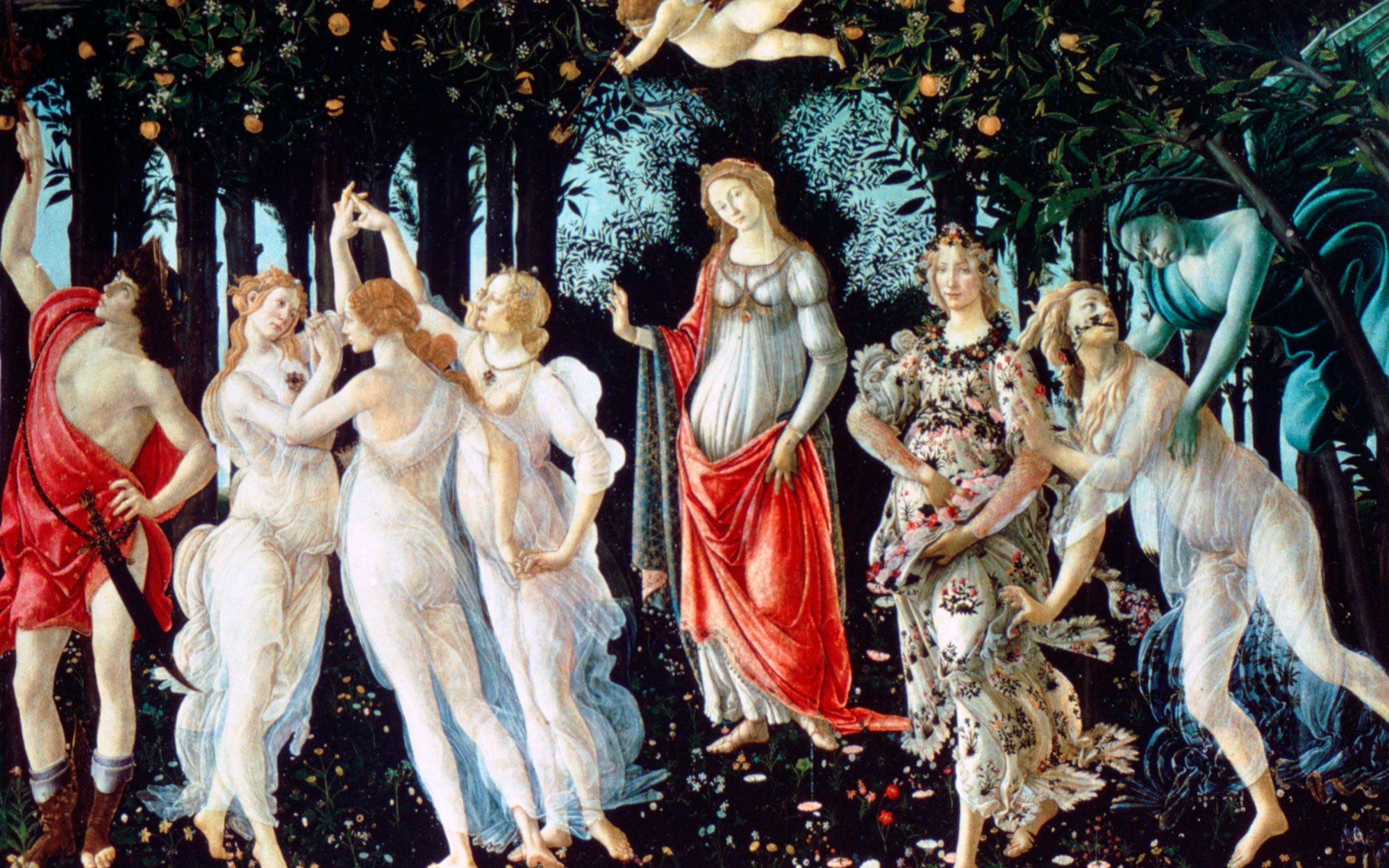 The science behind Botticelli's Primavera