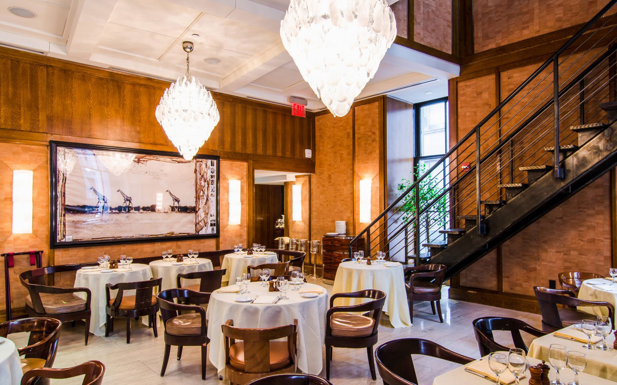 New York City's Power Lunch Restaurants: Cipriani Club 55