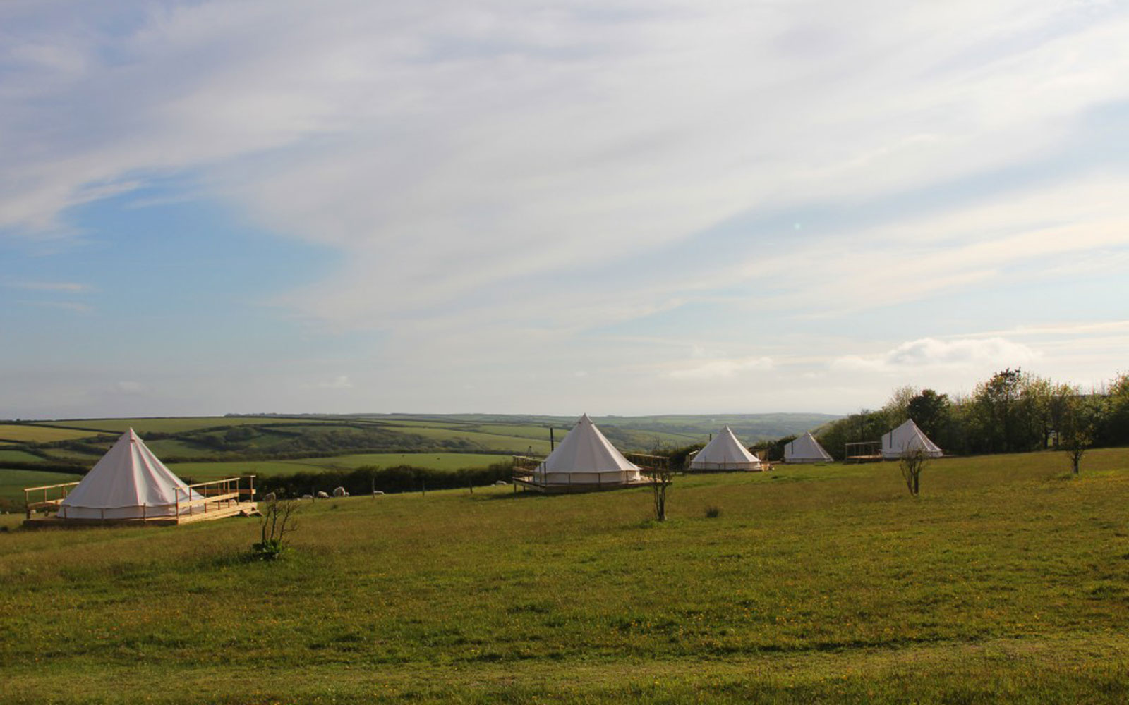 Things to Do in England: Sleep in a Yurt in Cornwall