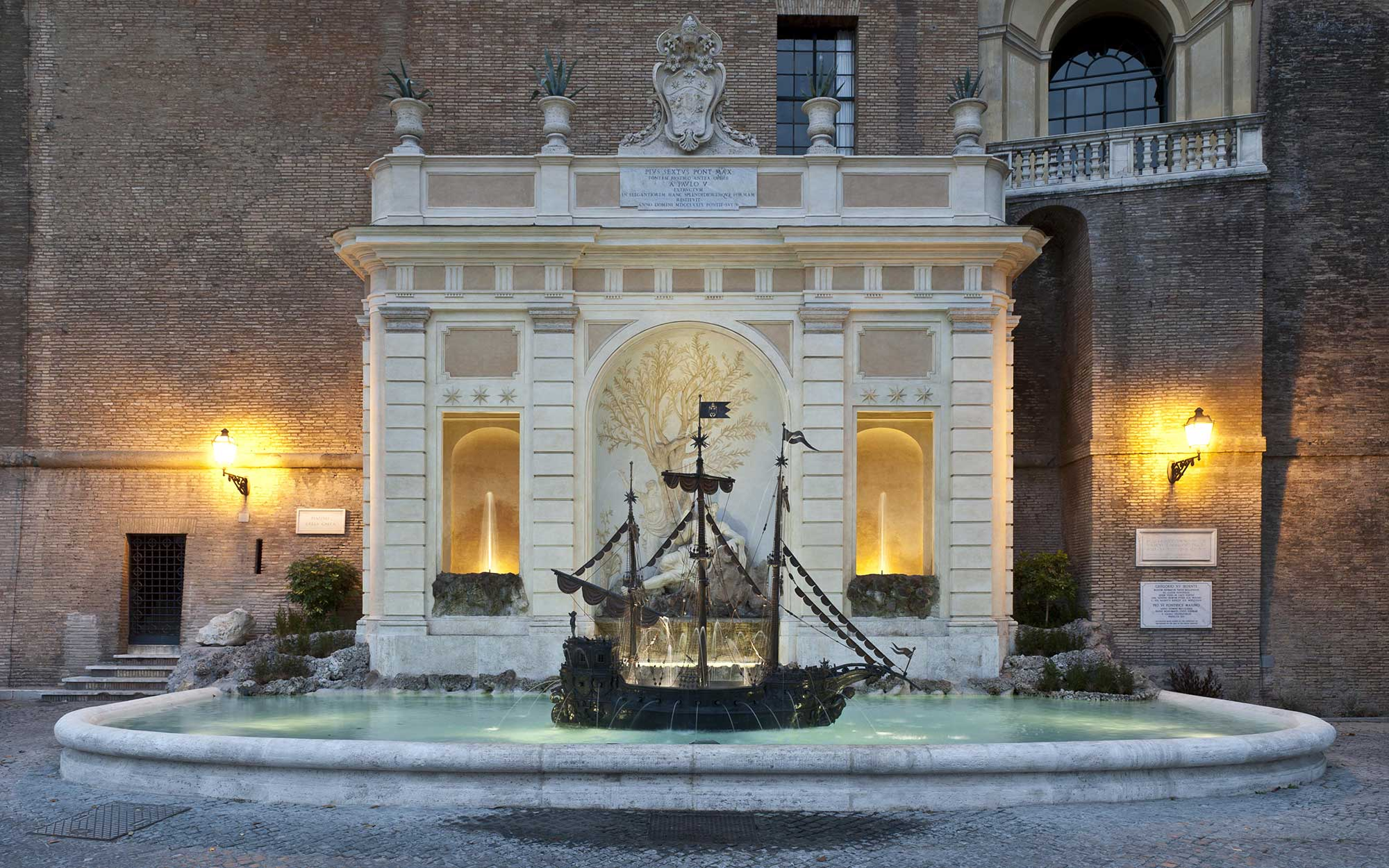 12 Roman Fountains That Will Make You Want to Book a Flight: Fontana Della Galera