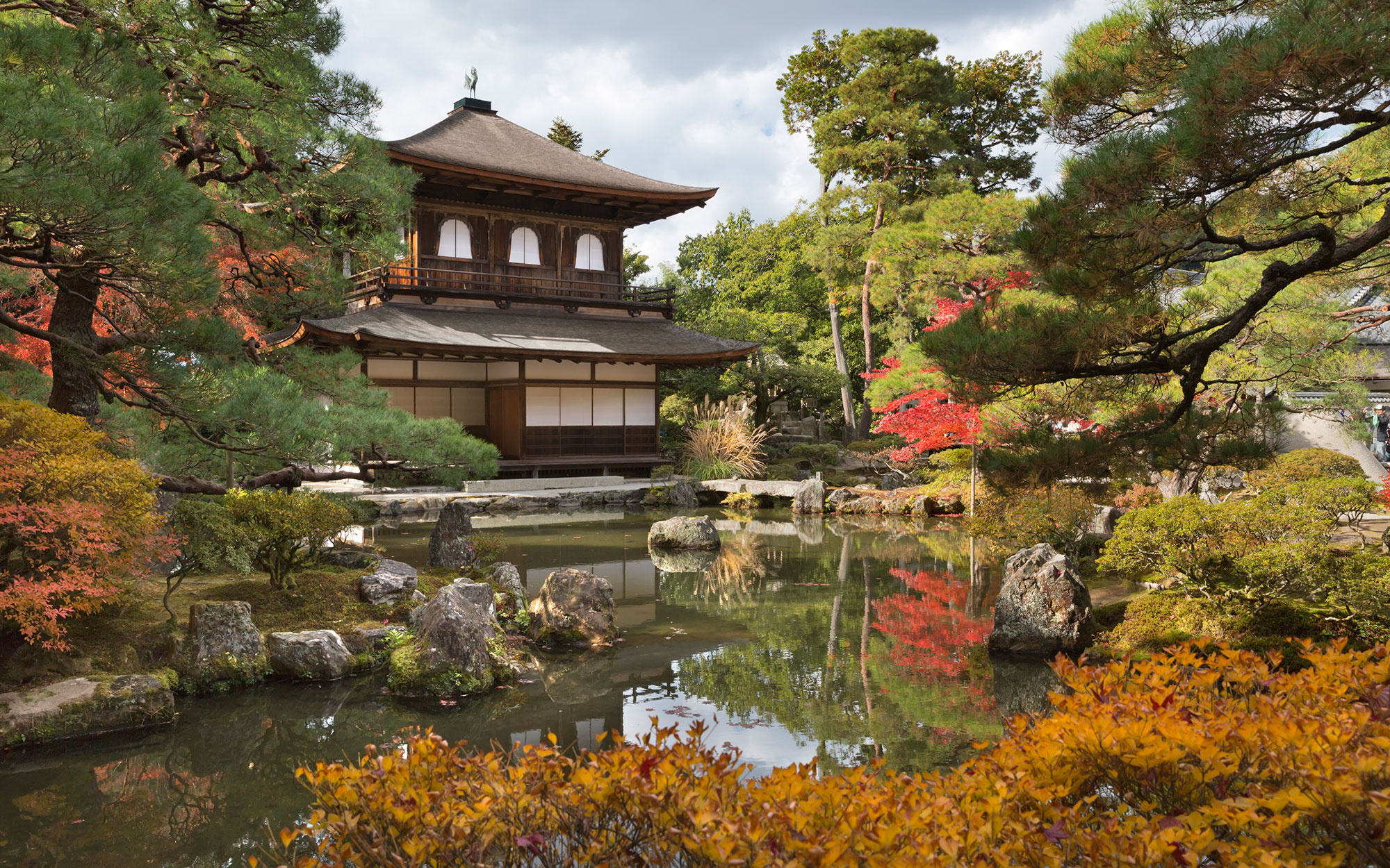 Japanese Temples - The Silver Pavilion