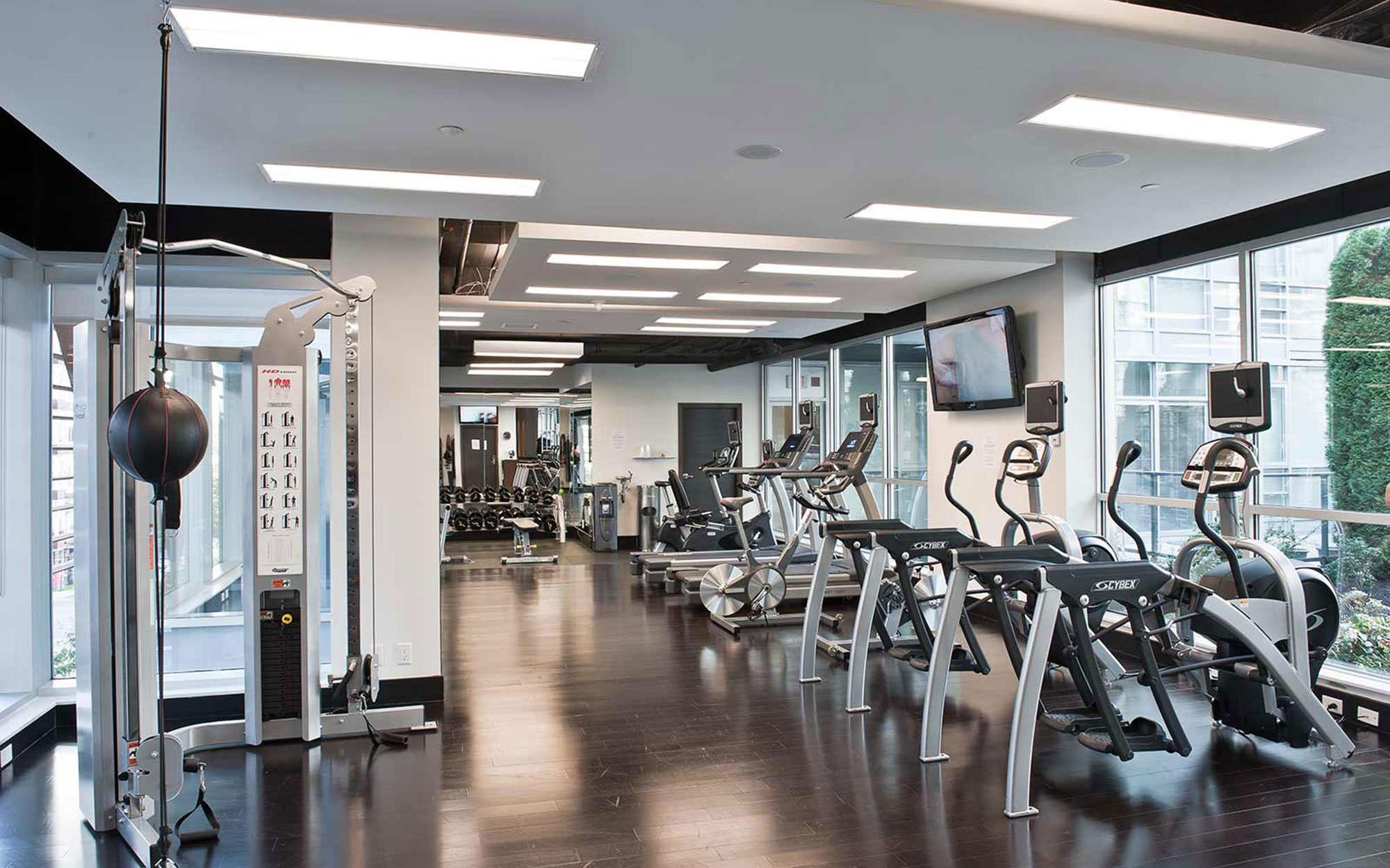 Best Hotels for Exercise: Loden Hotel, Vancouver