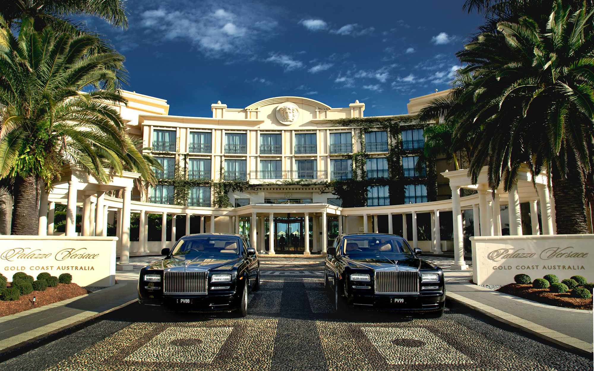 Celebrity owned hotels: Palazzo Versace