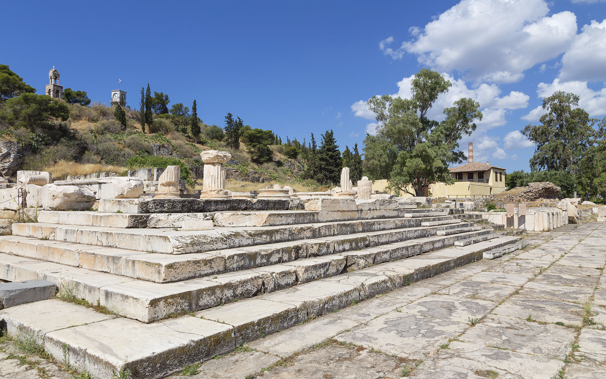 Best Ancient Greek Sites to Visit: Sanctuary of Demeter and Kore at Eleusis