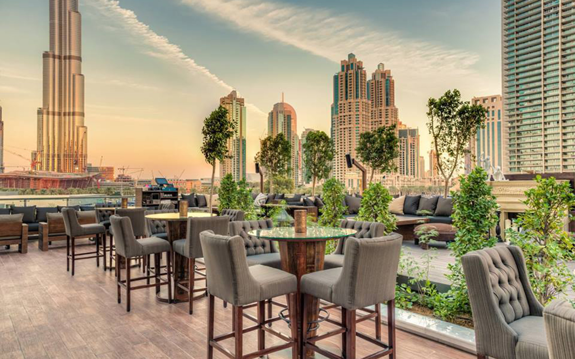 Dubai's Best Rooftop Bars: Treehouse