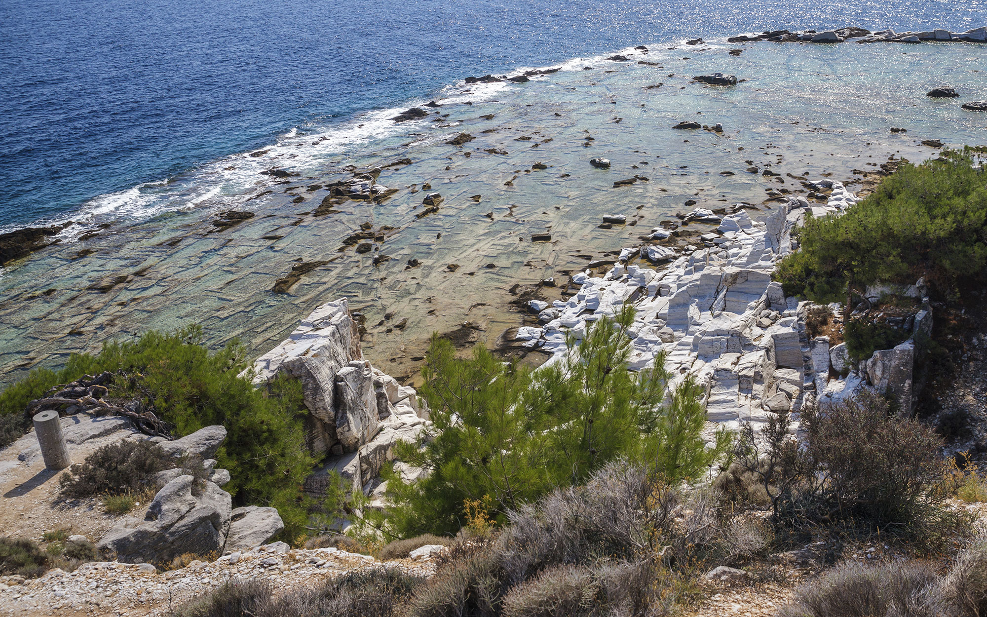 Best Ancient Greek Sites to Visit: Marble Quarters of Aliki