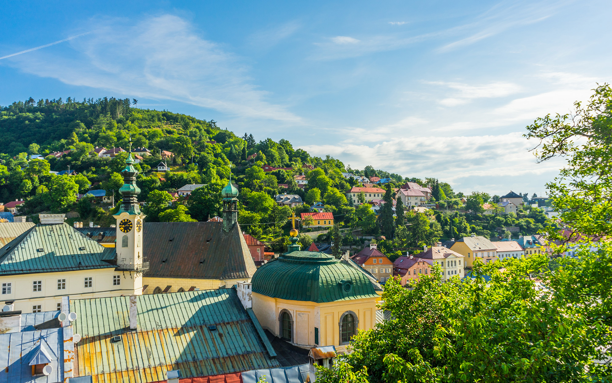 Europe's Most Beautiful Villages: Banksa Stiavnica, Slovakia