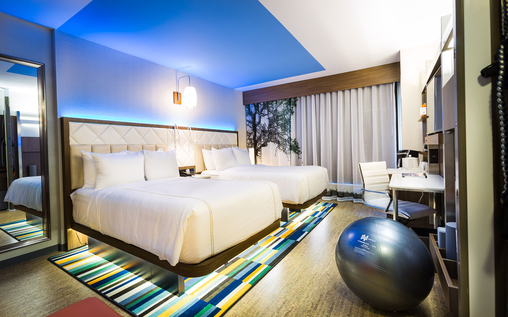 Best Hotels for Exercise: Even Hotel, New York City