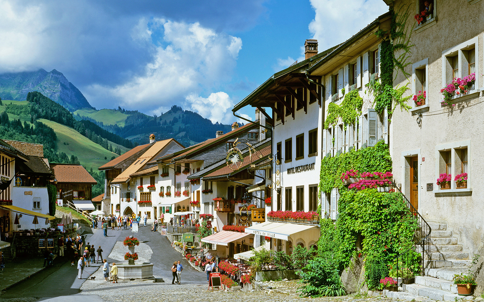 Europe's Most Beautiful Villages: Gruyères, Switzerland