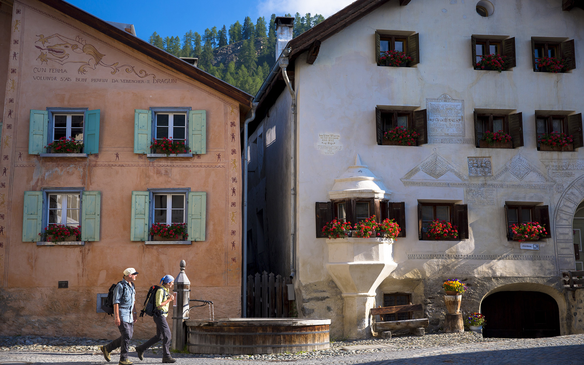 Europe's Most Beautiful Villages: Guarda, Switzerland