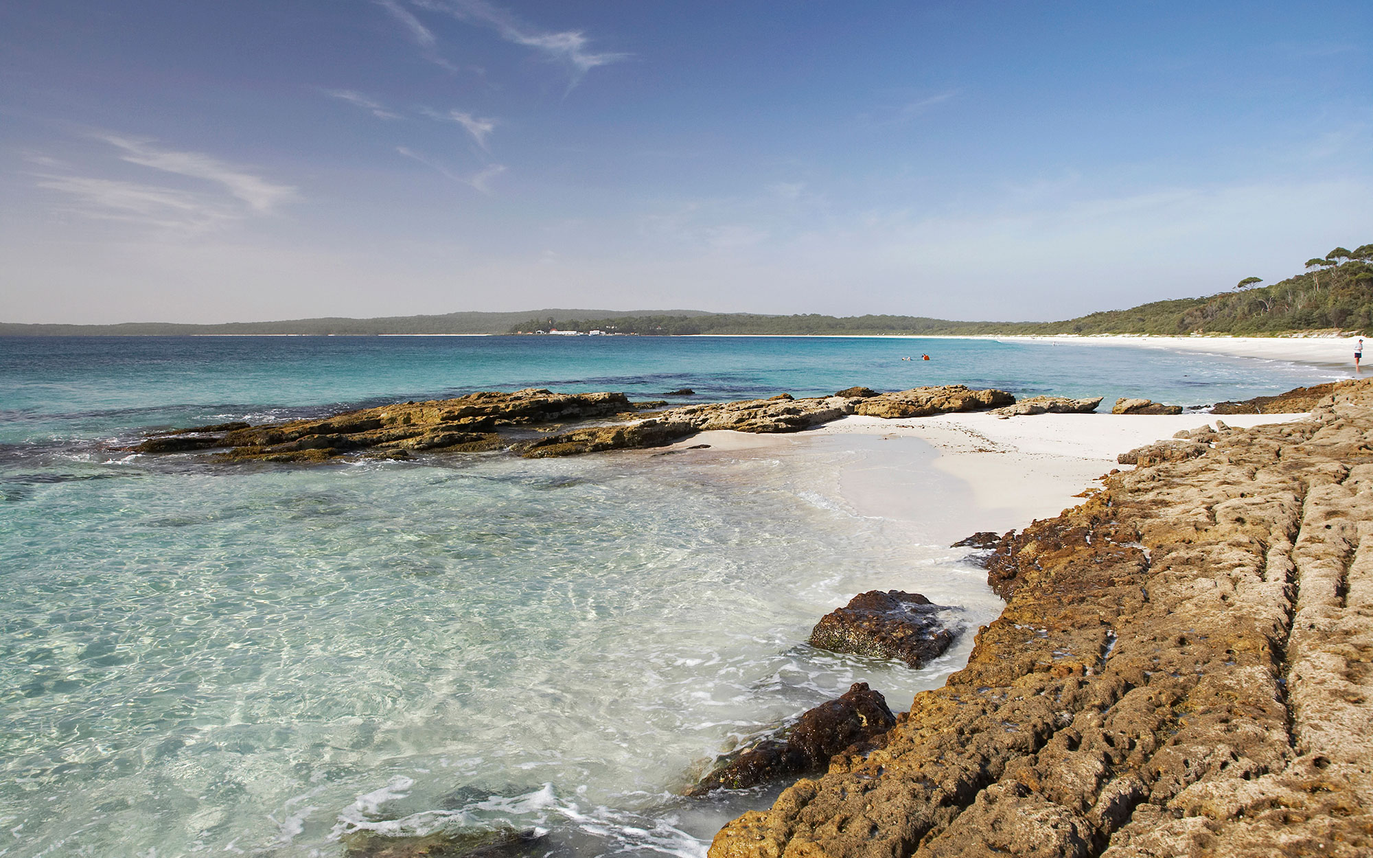 world's strangest beaches: Hyams Beach, Jervis Bay