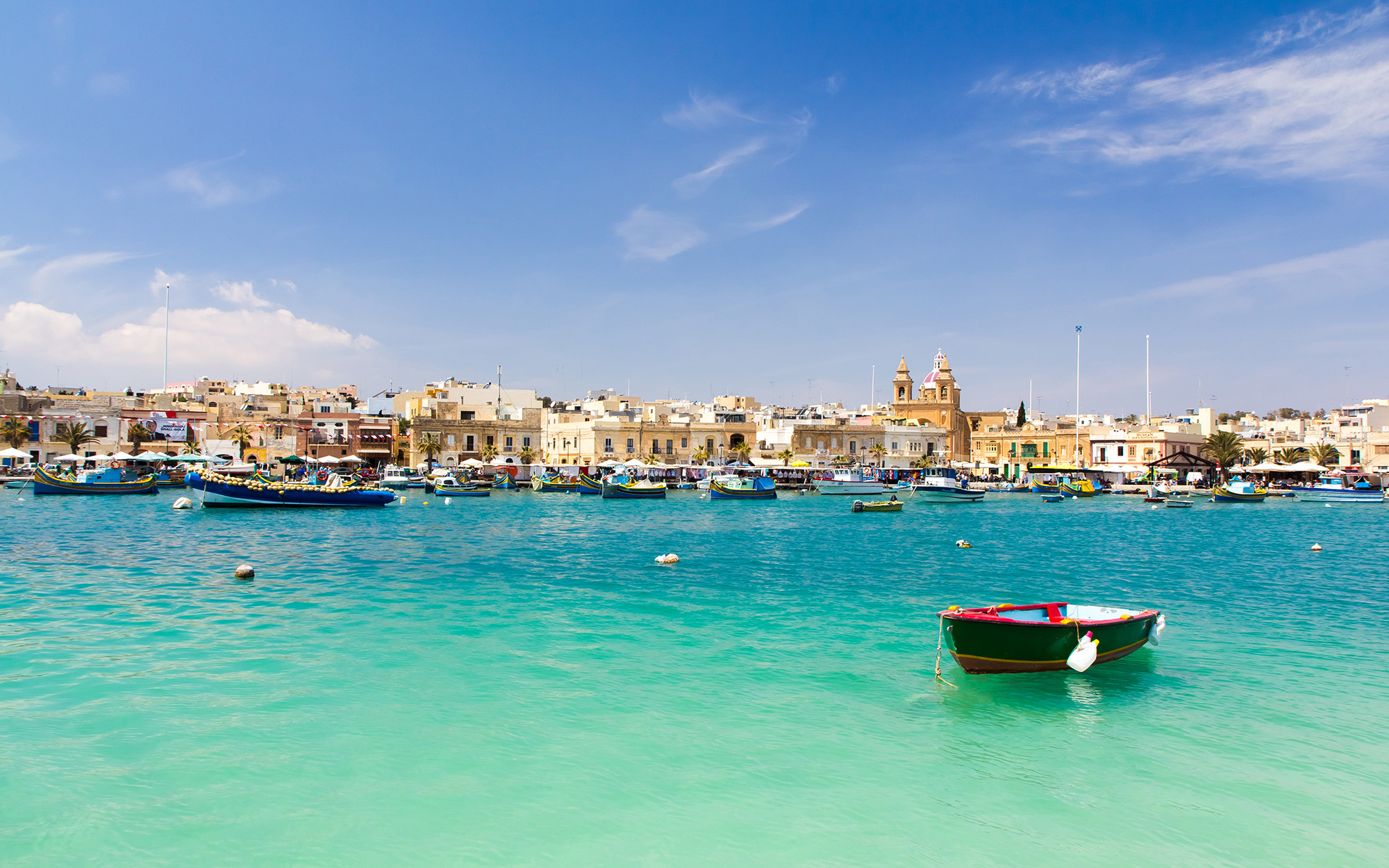 Europe's Most Beautiful Villages: Marsaxlokk, Malta