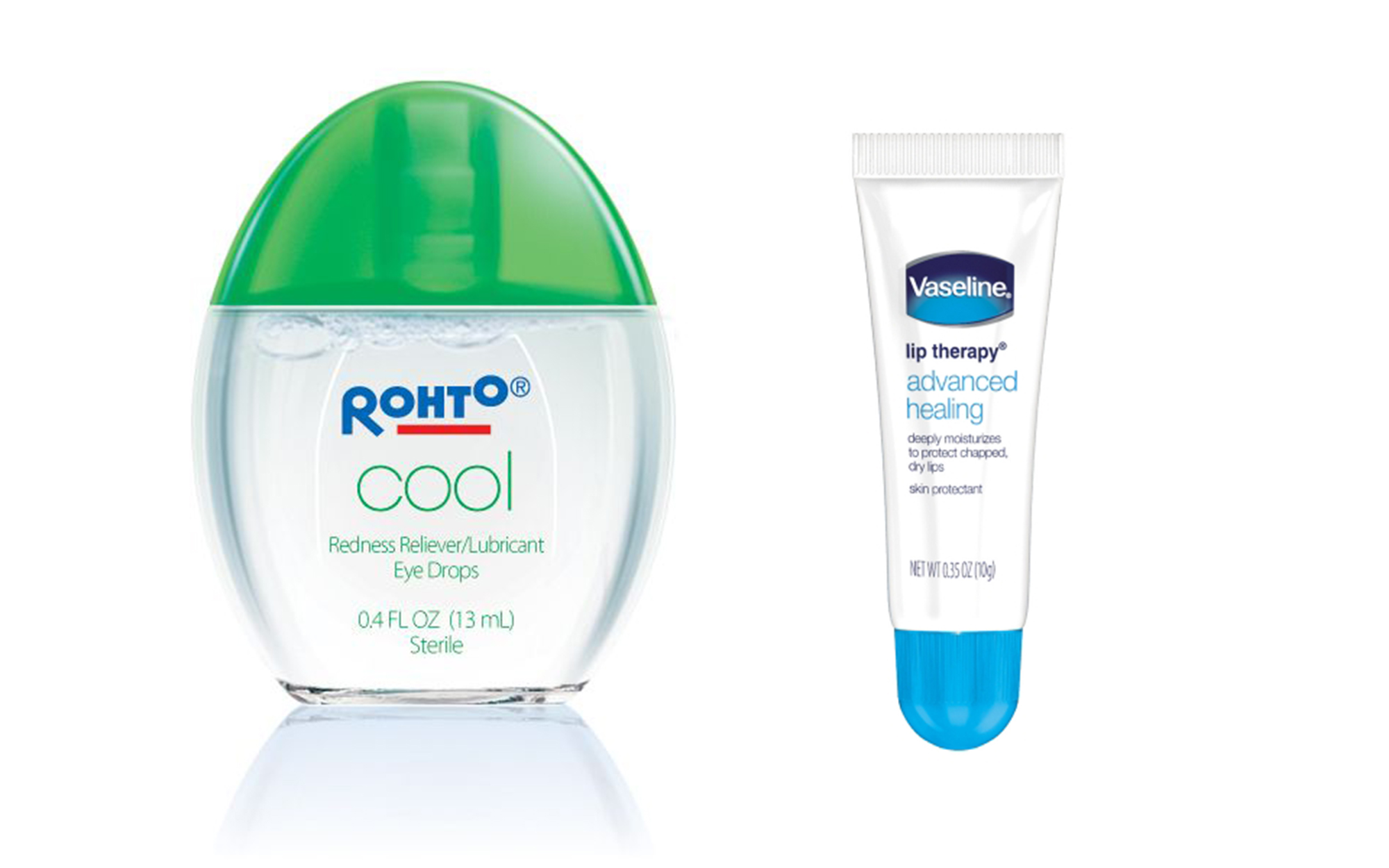 rhoto eye drops and vaseline