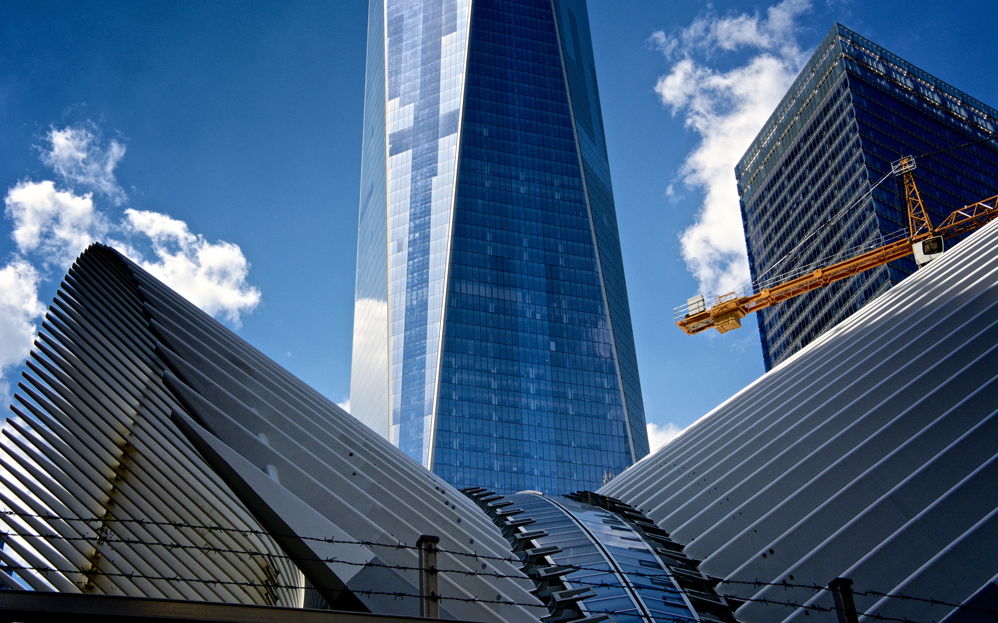 The Oculus, ONE World Trade Center Cityscape, Lower Manhattan, NYC