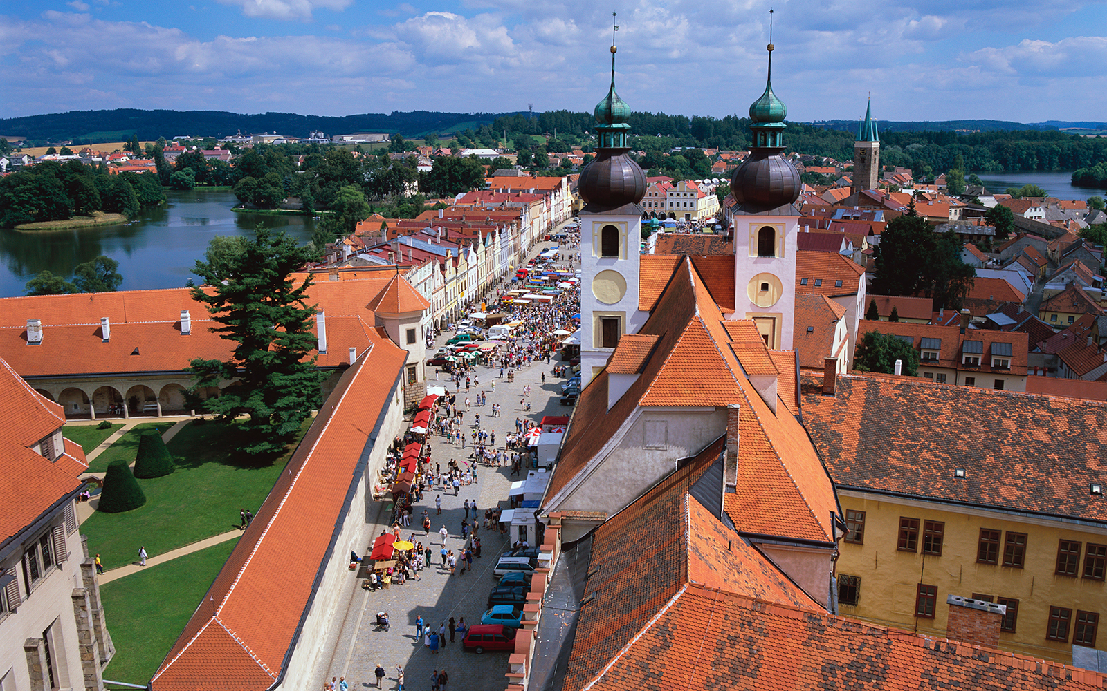 Europe's Most Beautiful Villages: Telc, Czech Republic