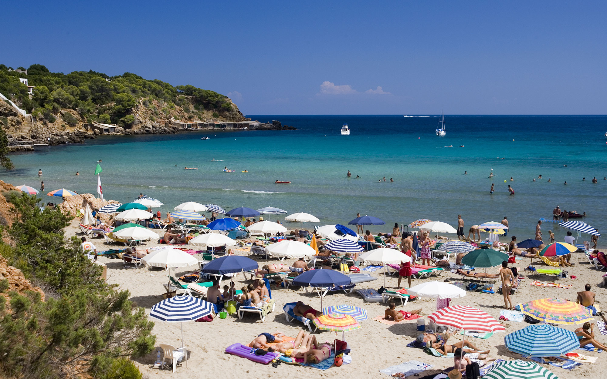 Best Beaches in Ibiza: Cala Jondal