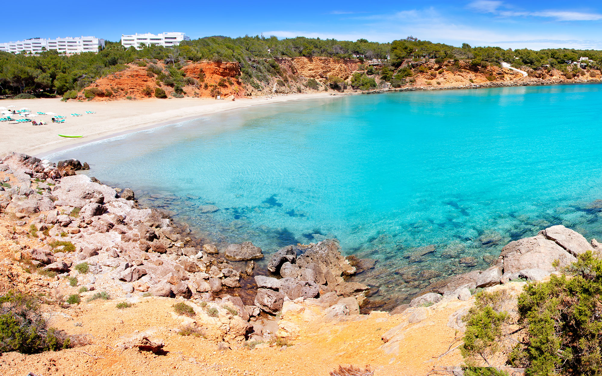 Best Beaches in Ibiza: Cala Llenya