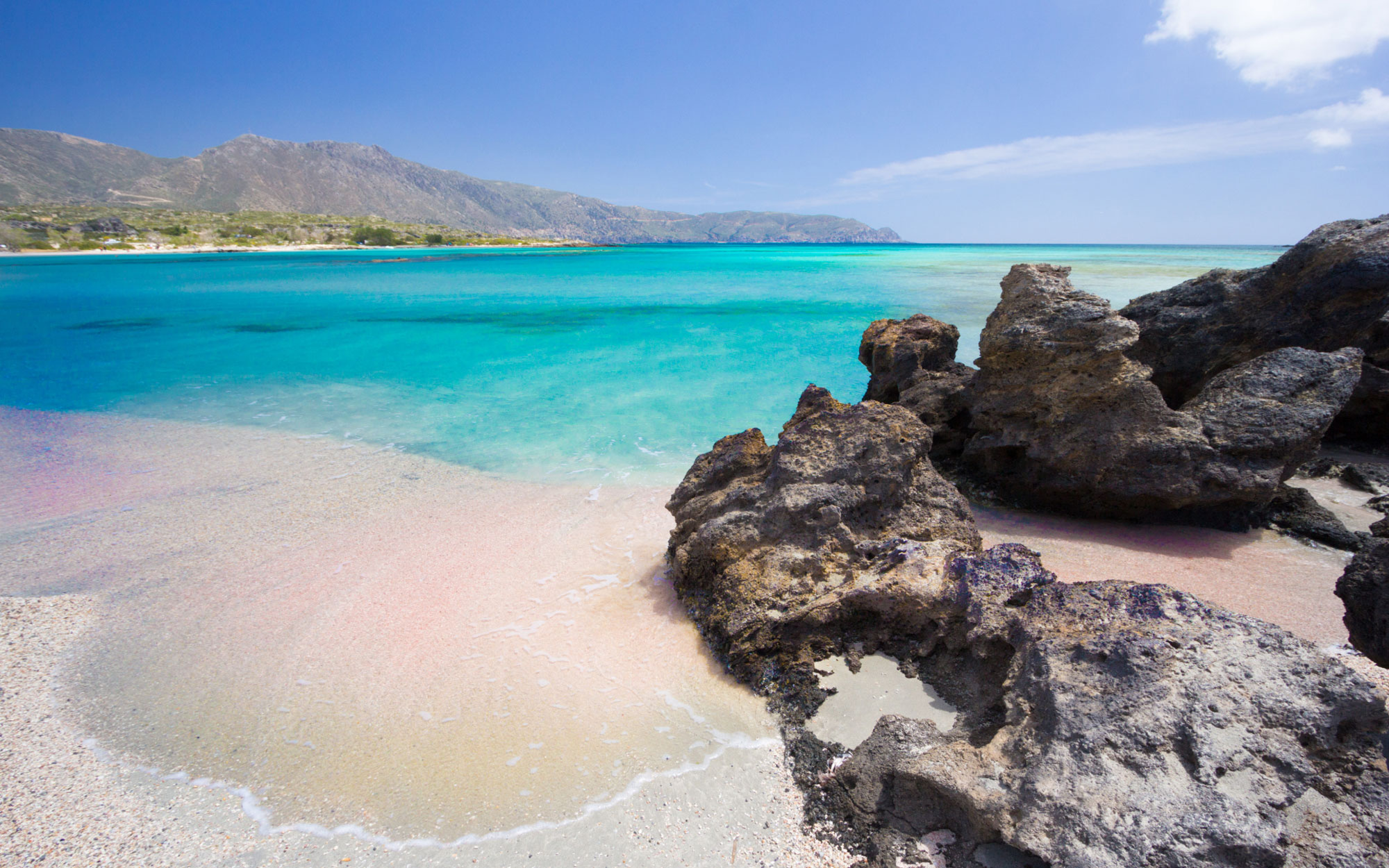 Best Beaches in Greece: Elafonisi, Crete