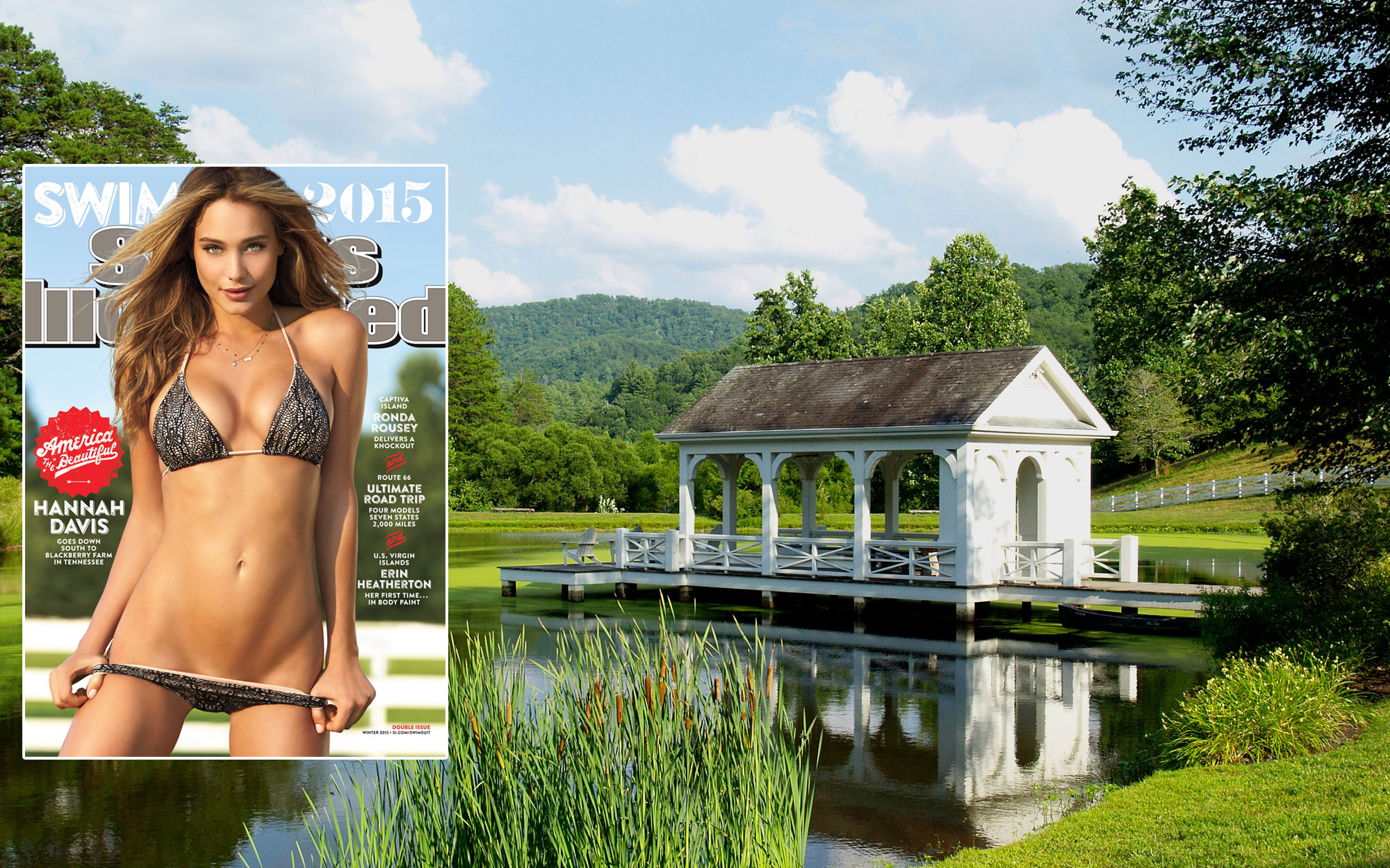 SI Swimsuit 2015: Blackberry Farm, Tennessee