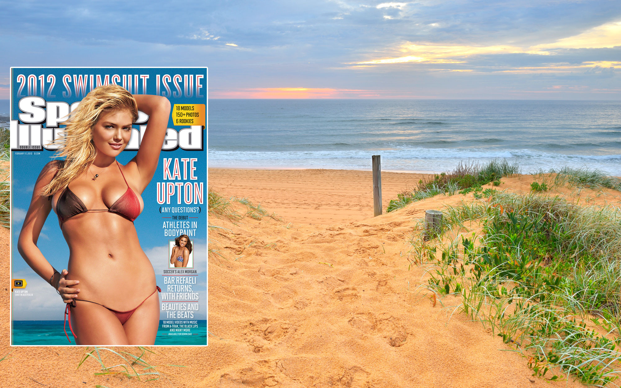 SI Swimsuit 2012: North Narrabeen Beach, New South Wales, Australia