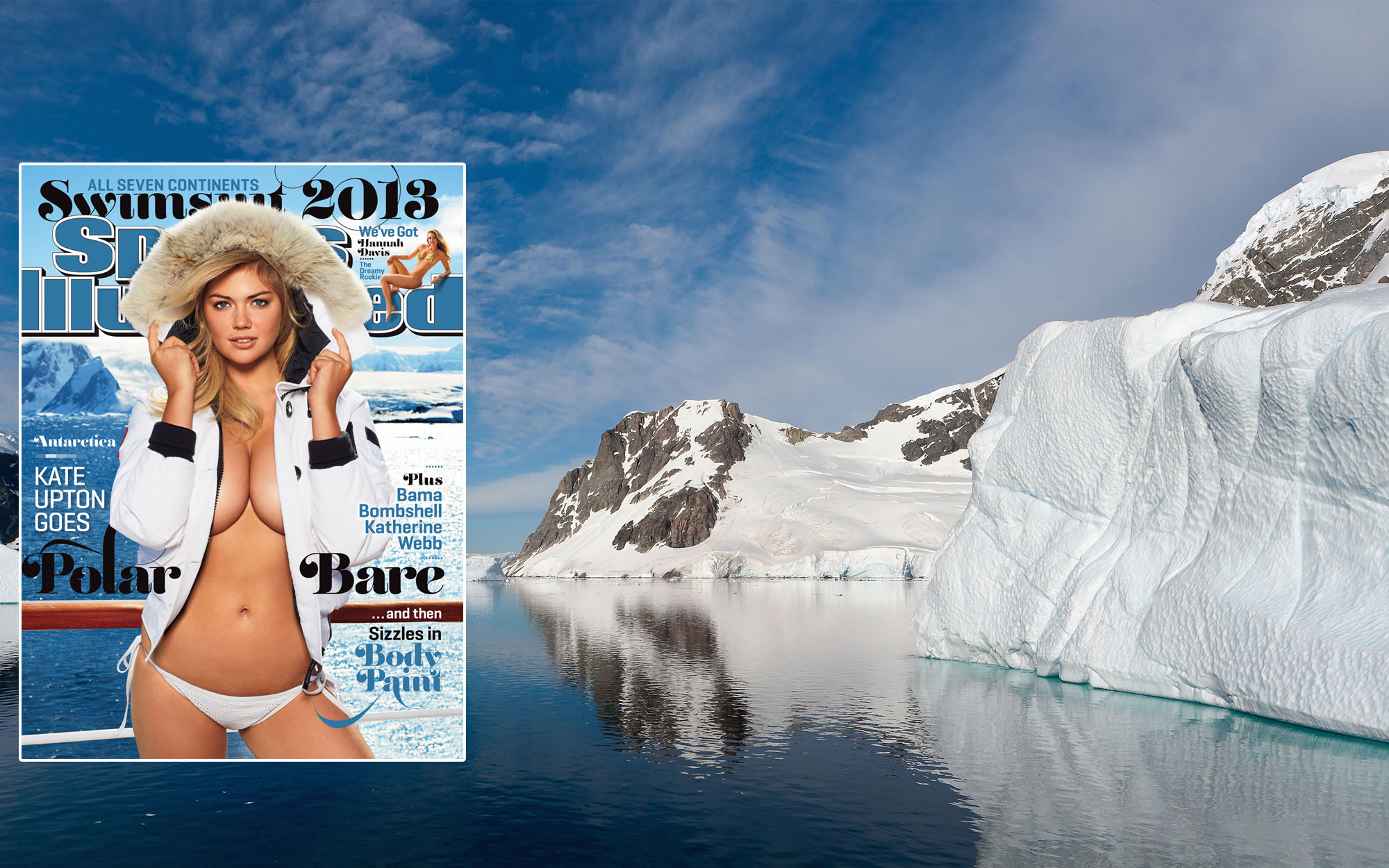 SI Swimsuit 2013: Antarctica