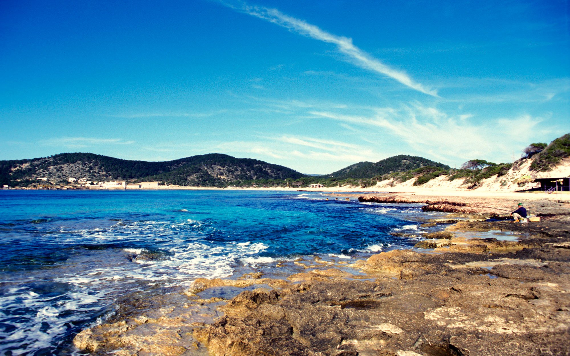 Best Beaches in Ibiza: Las Salinas