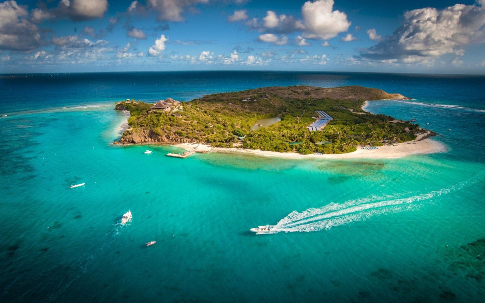 Luxury Vacations: Necker Island