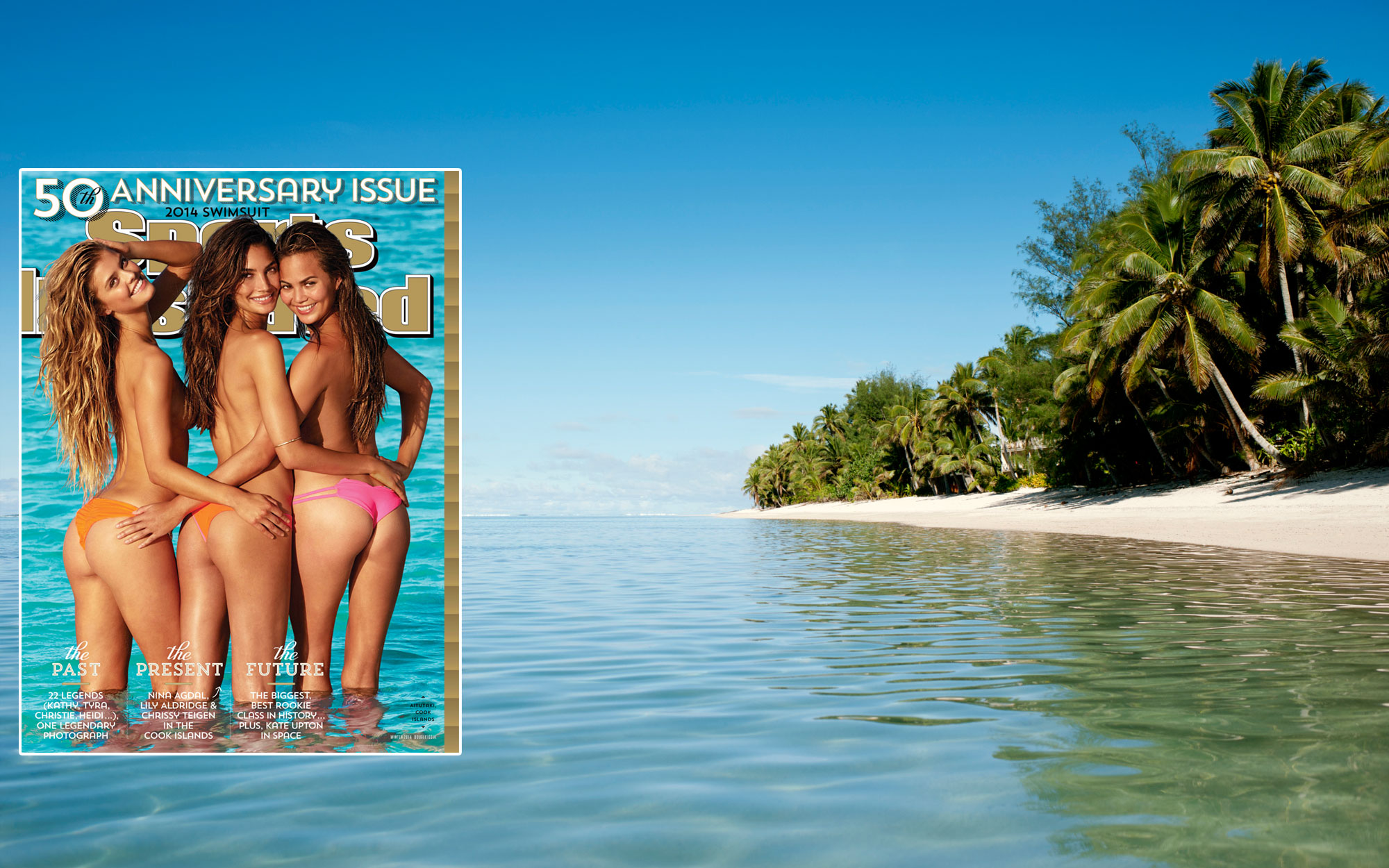 SI Swimsuit 2014: Rarotonga, Cook Islands, New Zealand