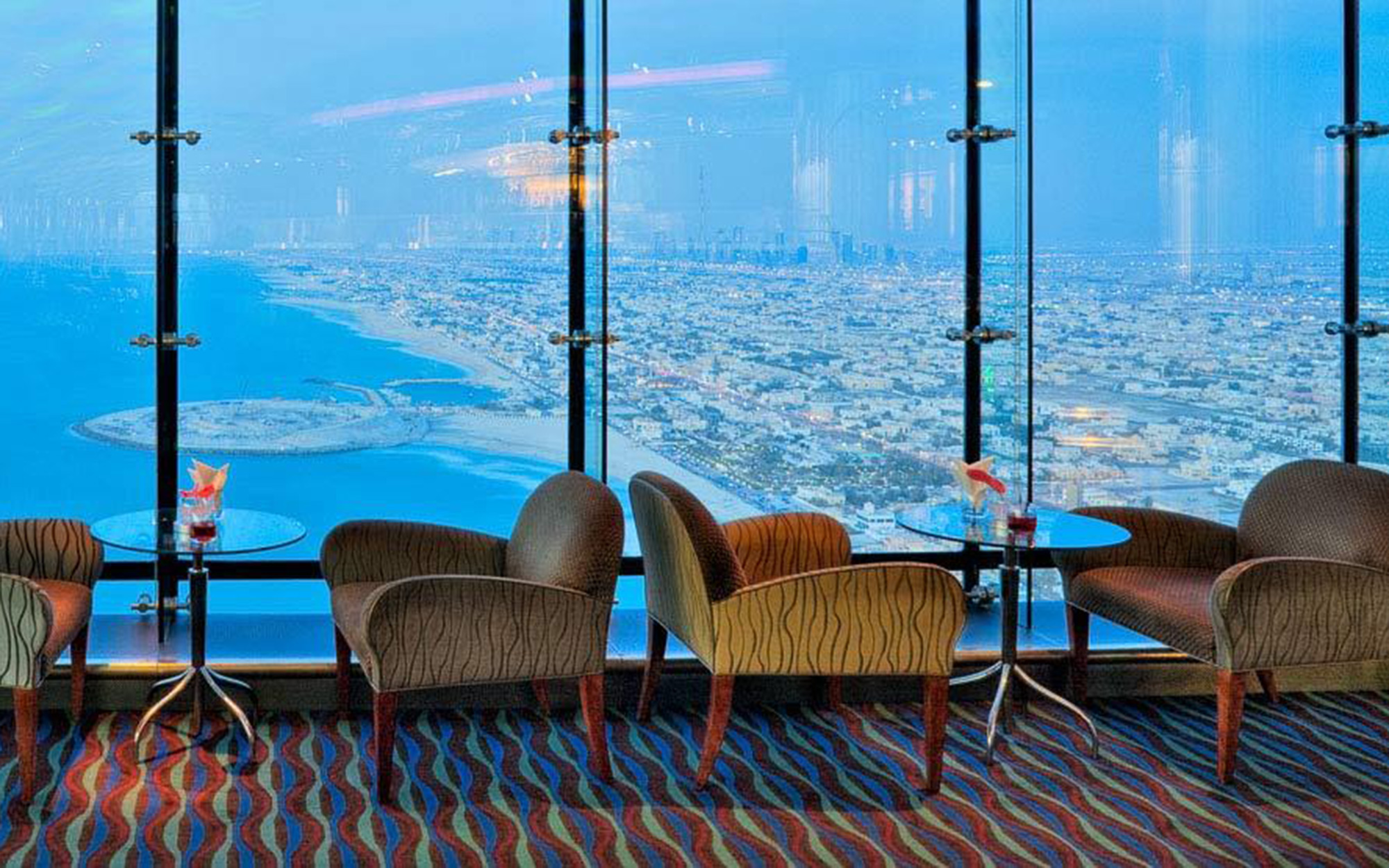 Skyview Bar in Burj Al Arab Jumeirah, Dubai