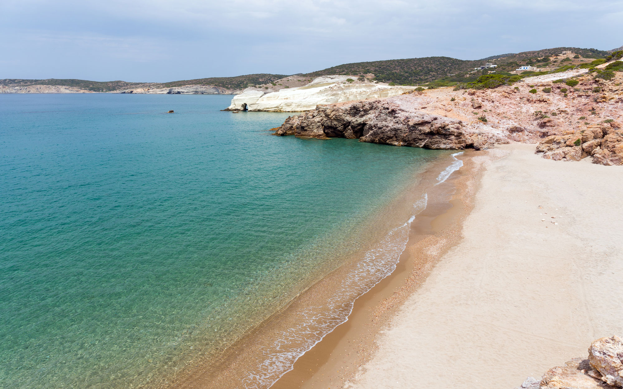 Best Beaches in Greece: Triades, Milos