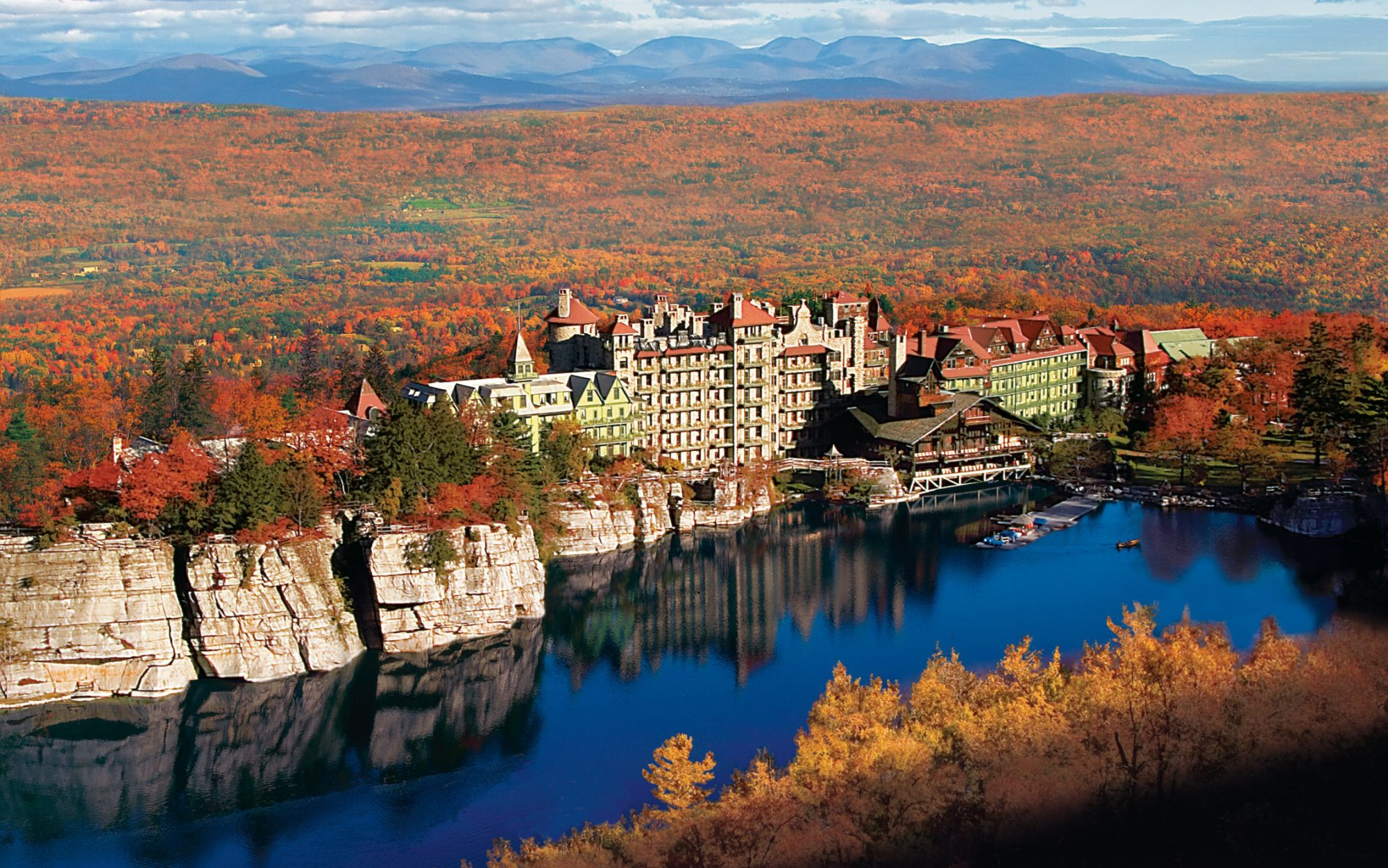 Best Resorts in the Continental U.S.: Mohonk Mountain House  New Paltz, New York
