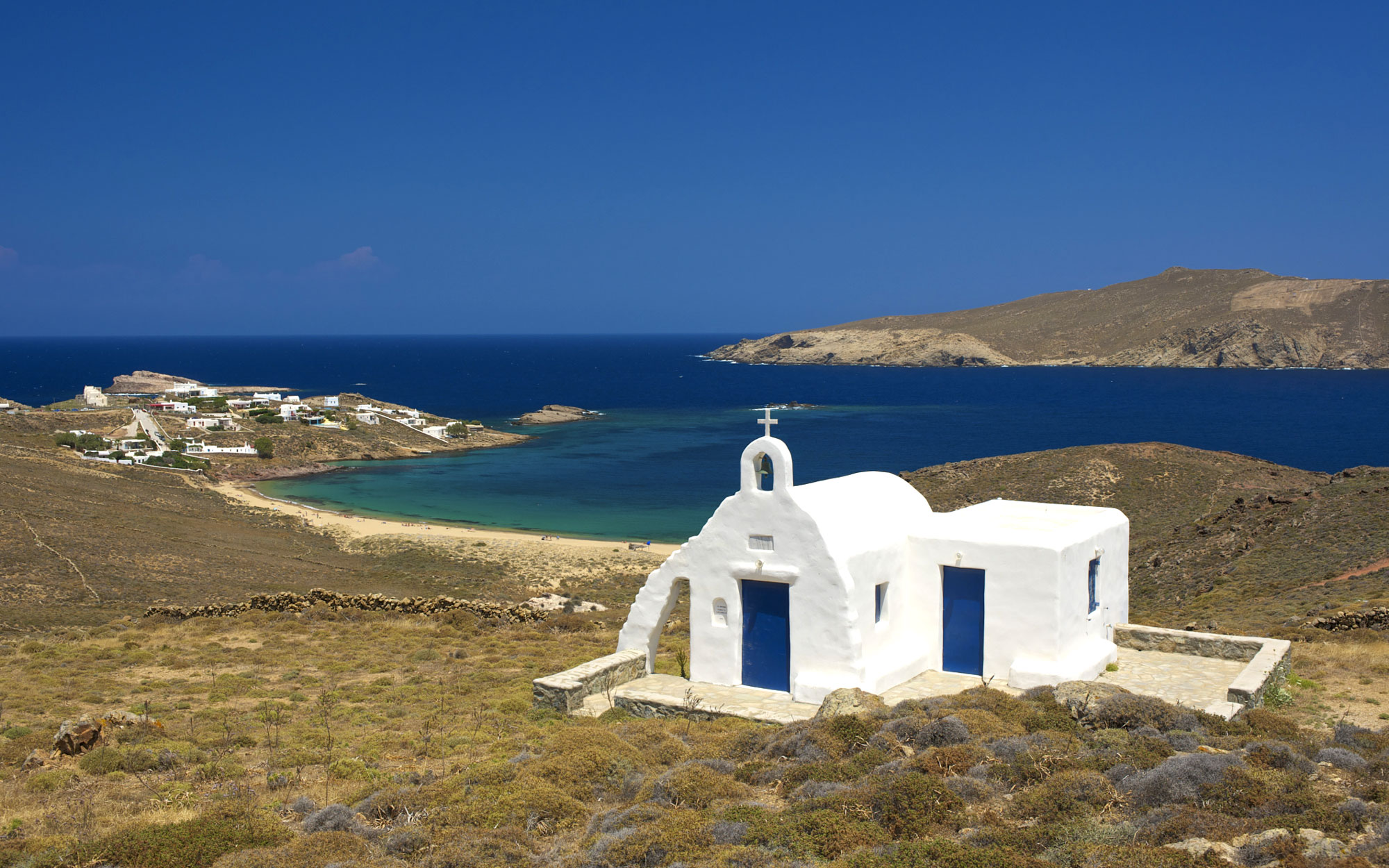 Best Beaches in Greece: Agios Sositis, Mykonos