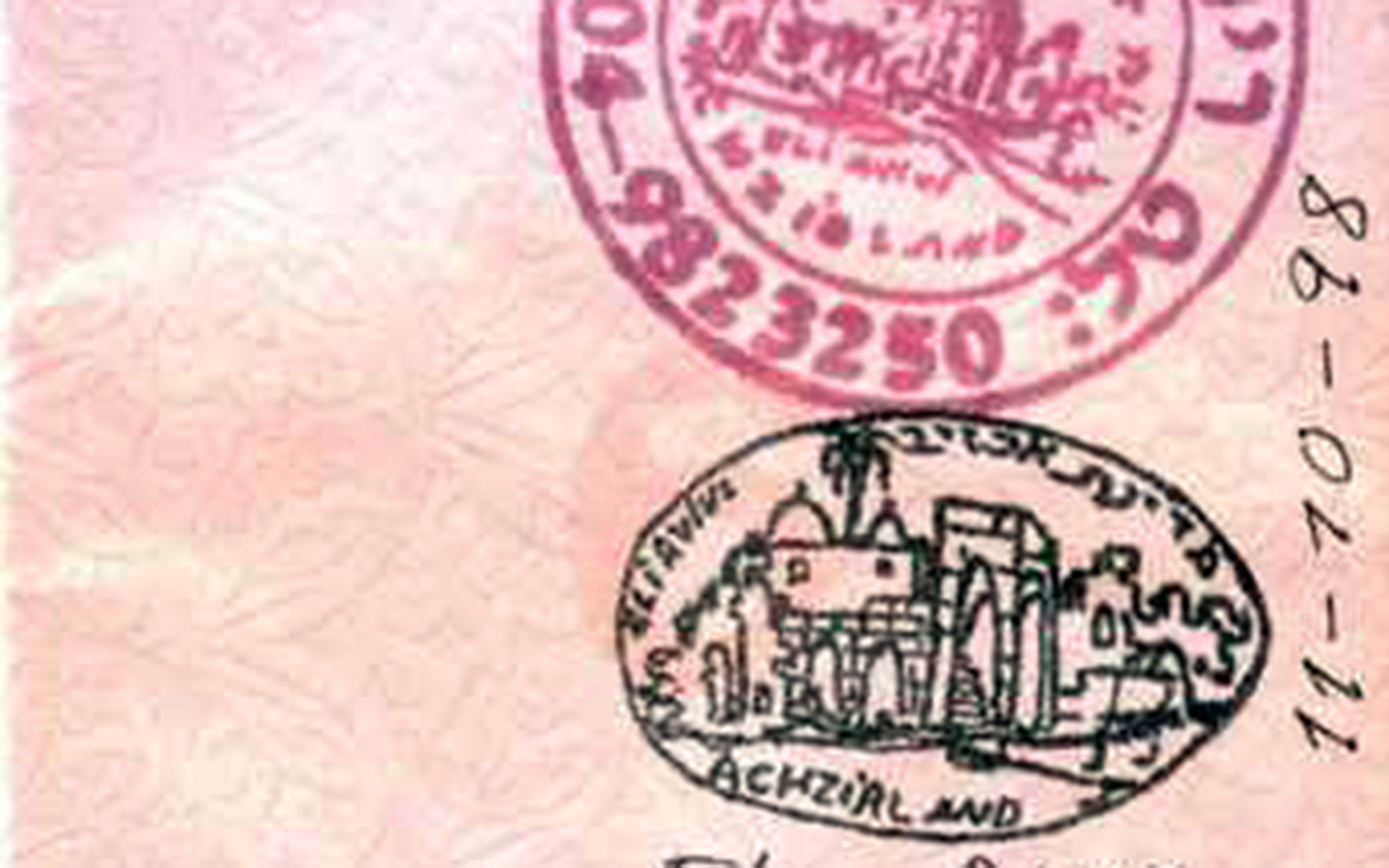 10 Coolest Passport Stamps in the World: Akhzivland